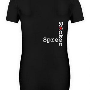 SpreeRocker Red + White Star - Schwangerschafts Shirt-16