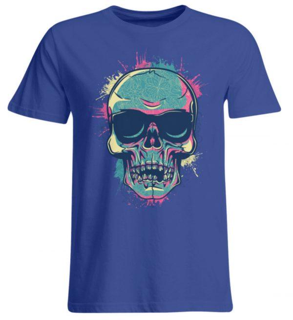 SpreeRocker Neon Skull - Übergrößenshirt-668