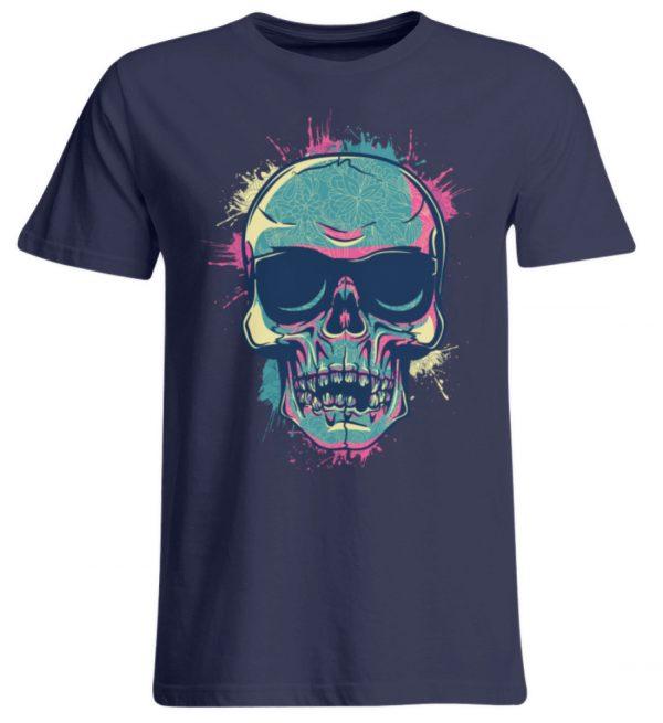 SpreeRocker Neon Skull - Übergrößenshirt-198