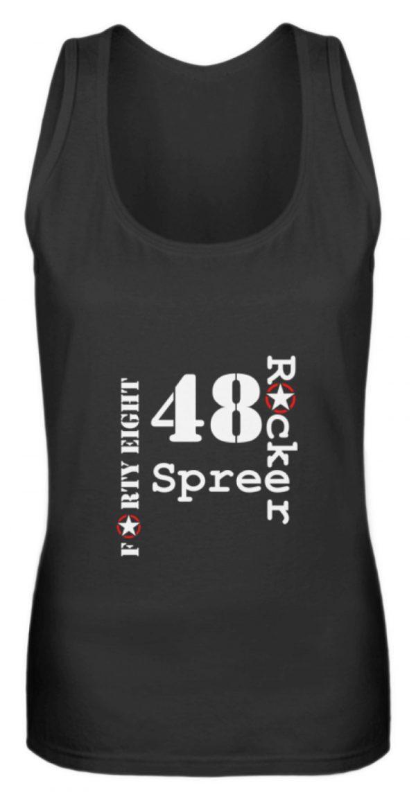 SpreeRocker Forty Eight weiss - Frauen Tanktop-16
