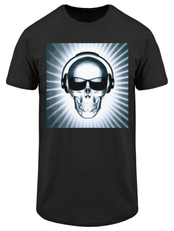 SpreeRocker Skull 1 - Herren Long Tee-16