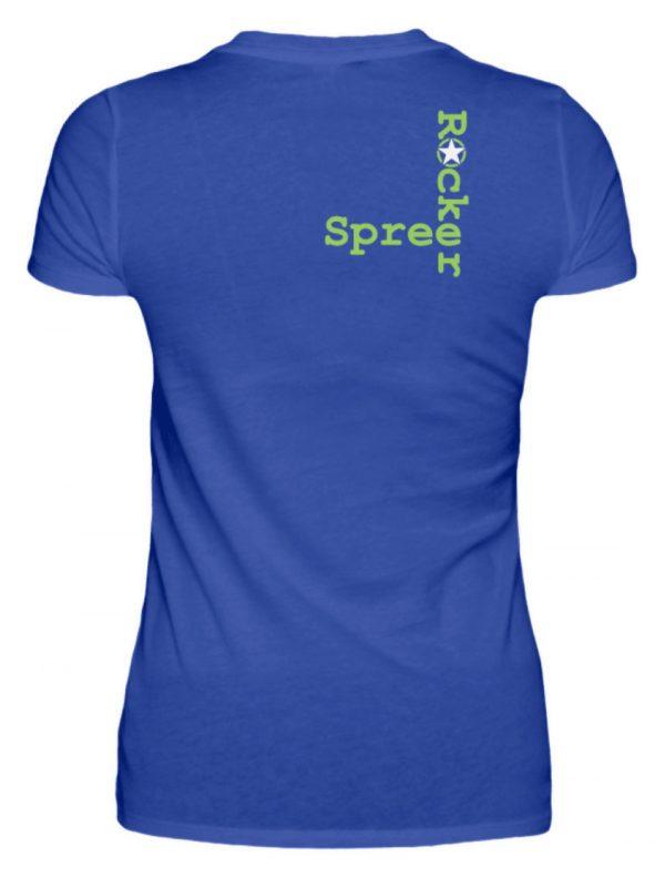SpreeRocker Neon Skull - Damenshirt-2496