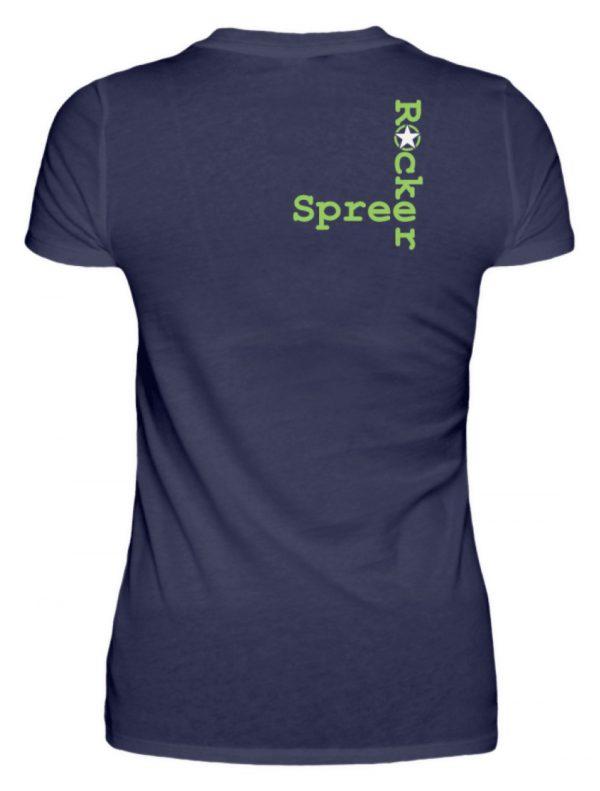 SpreeRocker Neon Skull - Damenshirt-198
