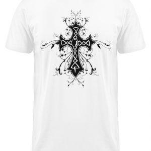 SpreeRocker Black Cross - Herren Long Tee-3