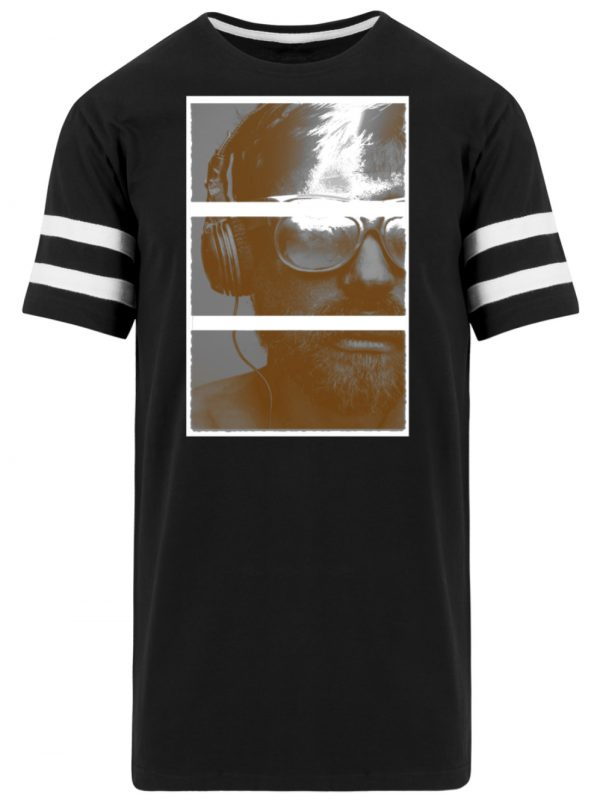 SpreeRocker Music Man - Striped Long Shirt-16