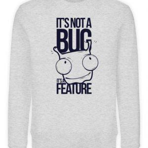 SpreeRocker Not A Bug - Unisex Organic Sweatshirt-6892