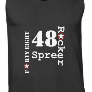 SpreeRocker Forty Eight weiss - Herren Tanktop-16