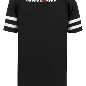 SpreeRocker Orange Skull - Striped Long Shirt-16