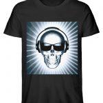 SpreeRocker Skull 1 - Herren Premium Organic Shirt-16