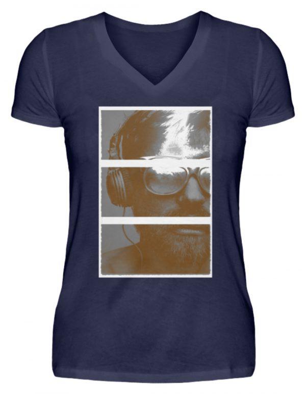 SpreeRocker Music Man - V-Neck Damenshirt-198