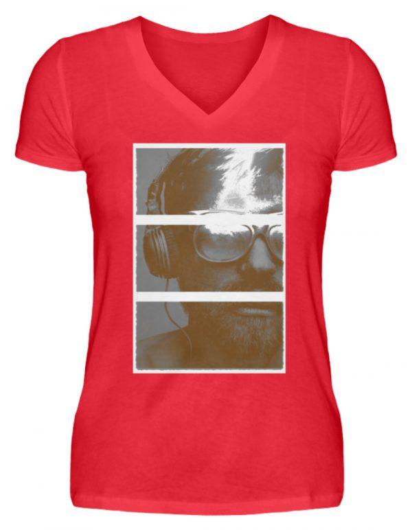 SpreeRocker Music Man - V-Neck Damenshirt-2561