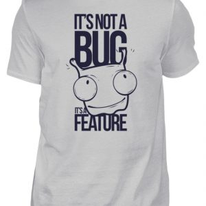 SpreeRocker Not A Bug - Herren Shirt-1157