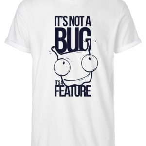 SpreeRocker Not A Bug - Herren RollUp Shirt-3