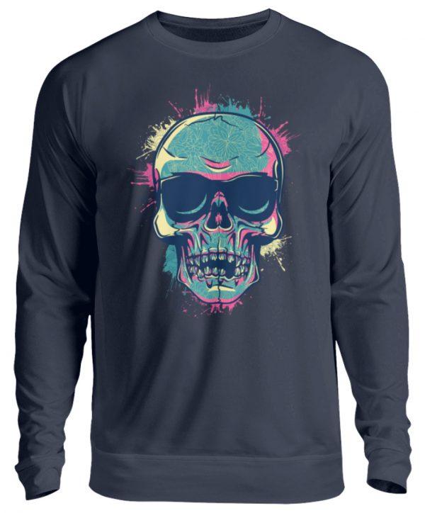 SpreeRocker Neon Skull - Unisex Pullover-1698