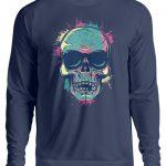 SpreeRocker Neon Skull - Unisex Pullover-1676