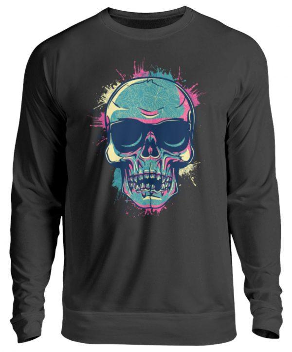 SpreeRocker Neon Skull - Unisex Pullover-1624
