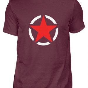SpreeRocker Red + White Star - Herren Shirt-839