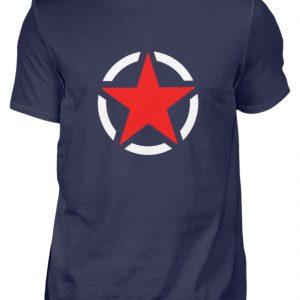 SpreeRocker Red + White Star - Herren Shirt-198