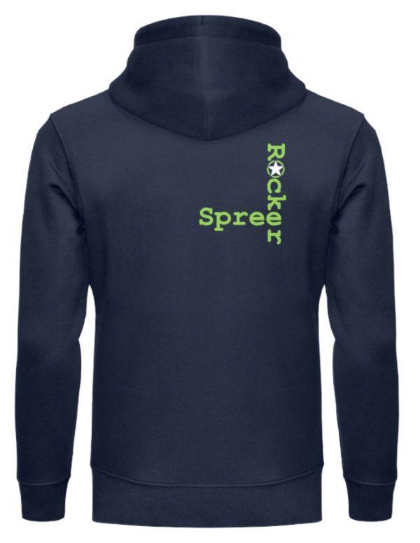 SpreeRocker Neon Skull - Unisex Organic Hoodie-6887