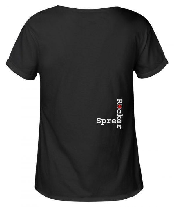 SpreeRocker Seventy Two weiss - Damen RollUp Shirt-16