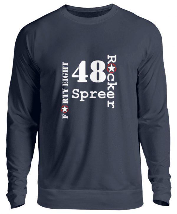SpreeRocker Forty Eight weiss - Unisex Pullover-1698