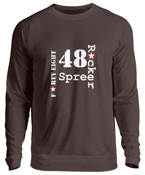 SpreeRocker Forty Eight weiss - Unisex Pullover-1604