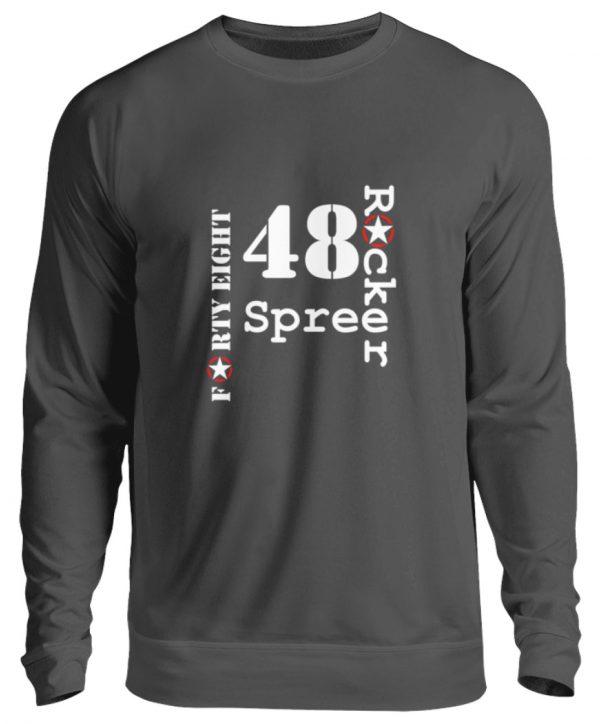 SpreeRocker Forty Eight weiss - Unisex Pullover-1768
