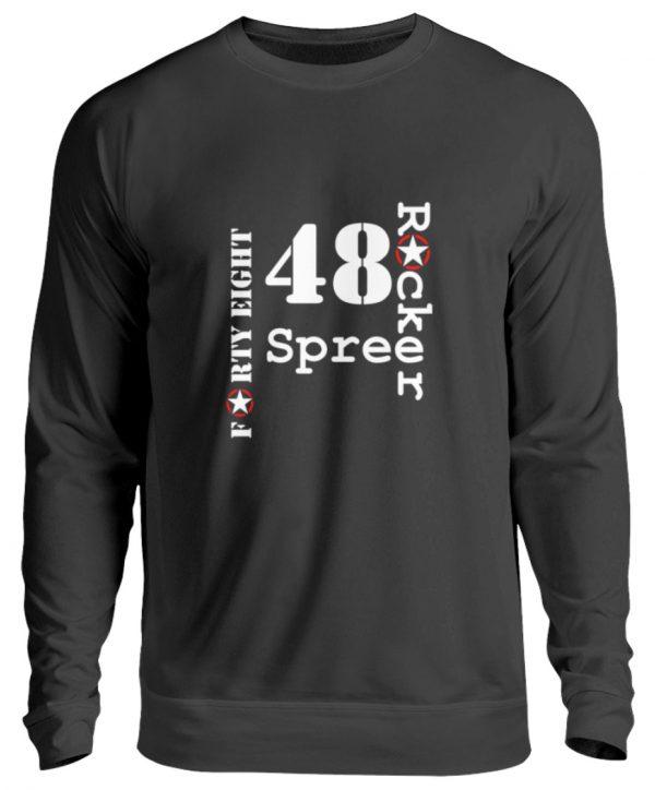 SpreeRocker Forty Eight weiss - Unisex Pullover-1624
