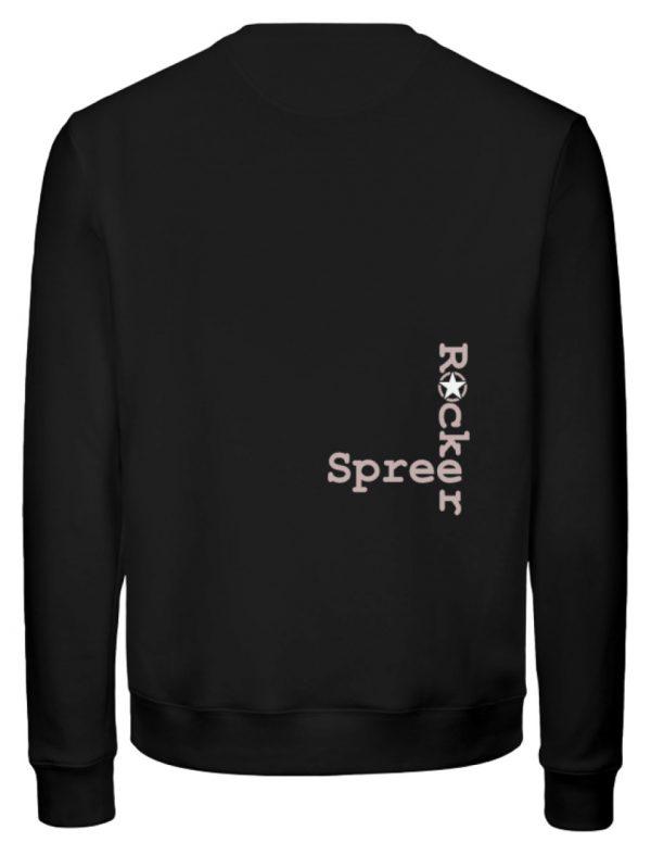 SpreeRocker Pink Skull - Unisex Organic Sweatshirt-16