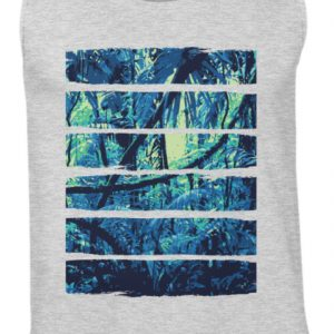 SpreeRocker Blue Jungle - Herren Tanktop-236