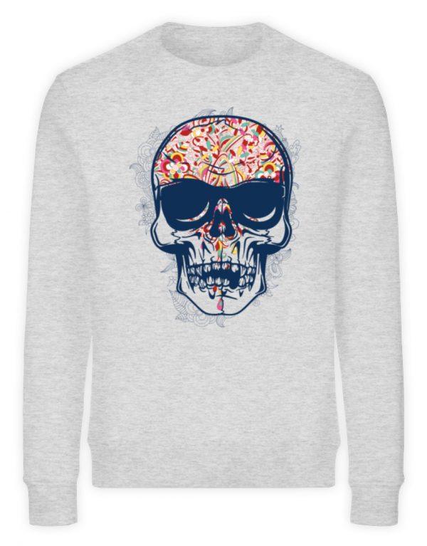 SpreeRocker Skull 2 - Unisex Organic Sweatshirt-6892