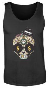 SpreeRocker Dollar Skull - Herren Tanktop-16