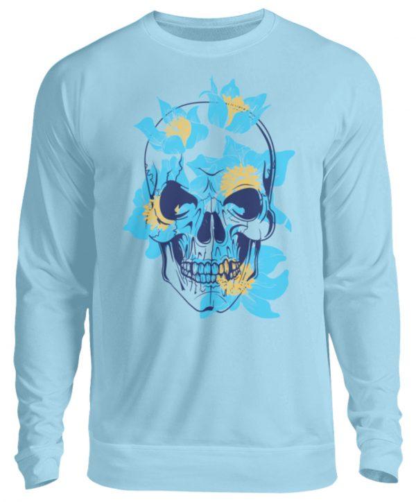 SpreeRocker Blue Skull - Unisex Pullover-674