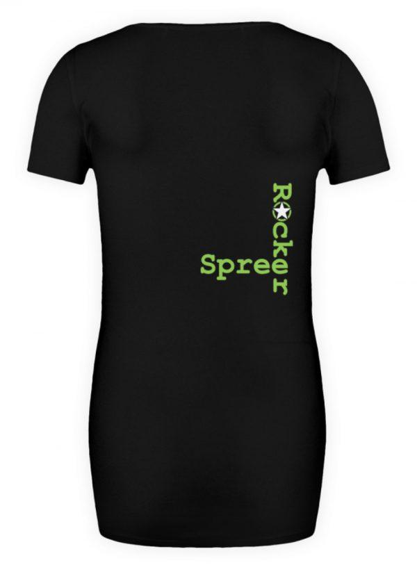 SpreeRocker Neon Skull - Schwangerschafts Shirt-16
