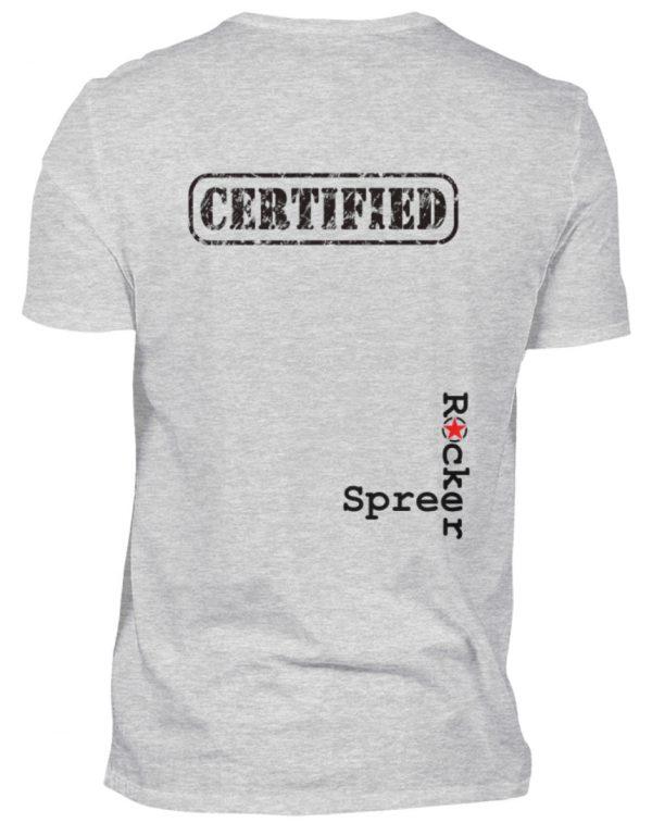 SpreeRocker Not A Bug - Herren V-Neck Shirt-236