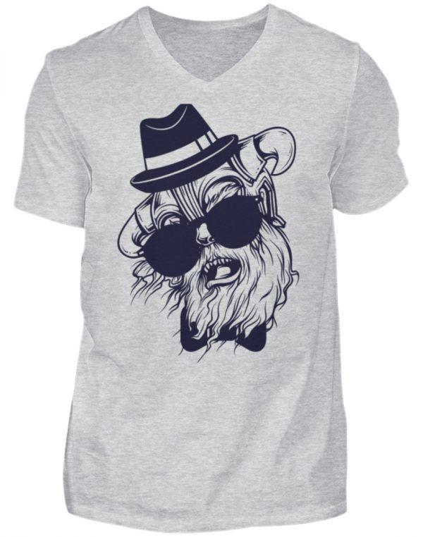 SpreeRocker Sunglass Monkey - Herren V-Neck Shirt-236