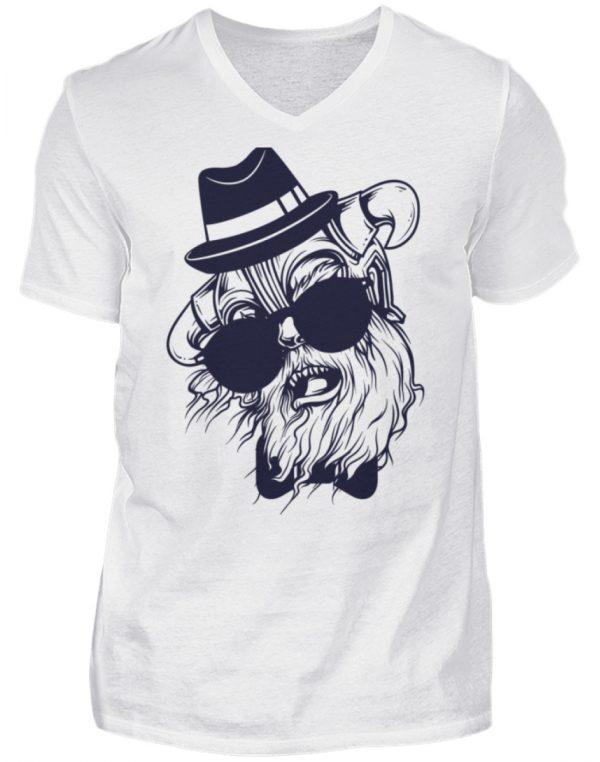 SpreeRocker Sunglass Monkey - Herren V-Neck Shirt-3