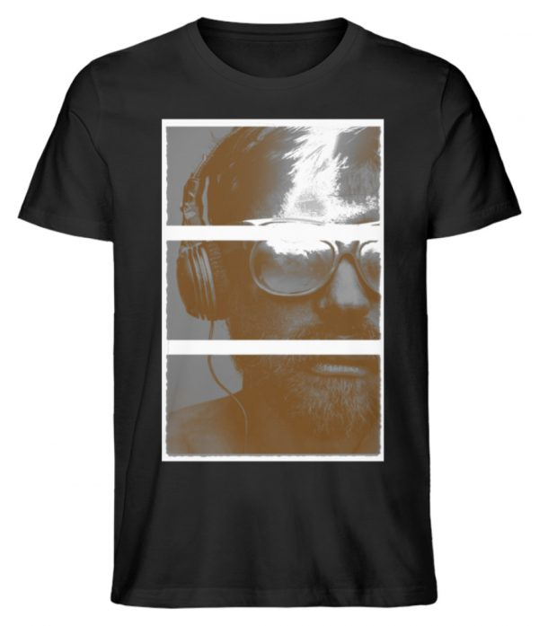 SpreeRocker Music Man - Herren Premium Organic Shirt-16
