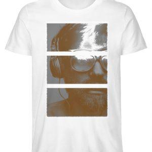 SpreeRocker Music Man - Herren Premium Organic Shirt-3