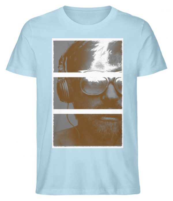 SpreeRocker Music Man - Herren Premium Organic Shirt-6888