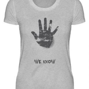 SpreeRocker We Know - Damenshirt-17