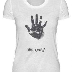 SpreeRocker We Know - Damenshirt-3