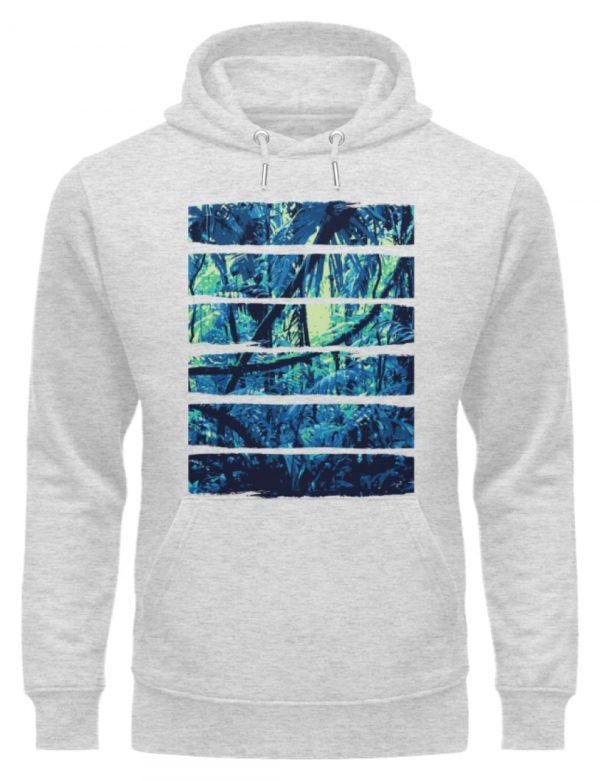 SpreeRocker Blue Jungle - Unisex Organic Hoodie-6892