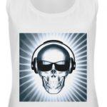 SpreeRocker Skull 1 - Frauen Tanktop-3