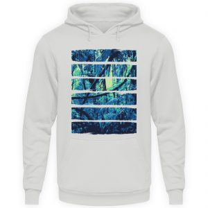 SpreeRocker Blue Jungle - Unisex Kapuzenpullover Hoodie-23