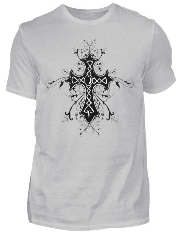SpreeRocker Black Cross - Herren Shirt-1157