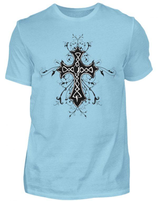 SpreeRocker Black Cross - Herren Shirt-674