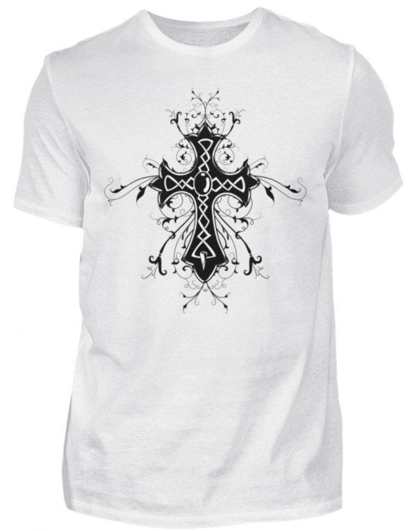 SpreeRocker Black Cross - Herren Shirt-3