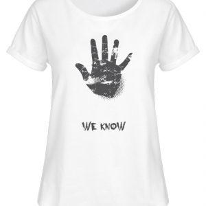 SpreeRocker We Know - Damen RollUp Shirt-3