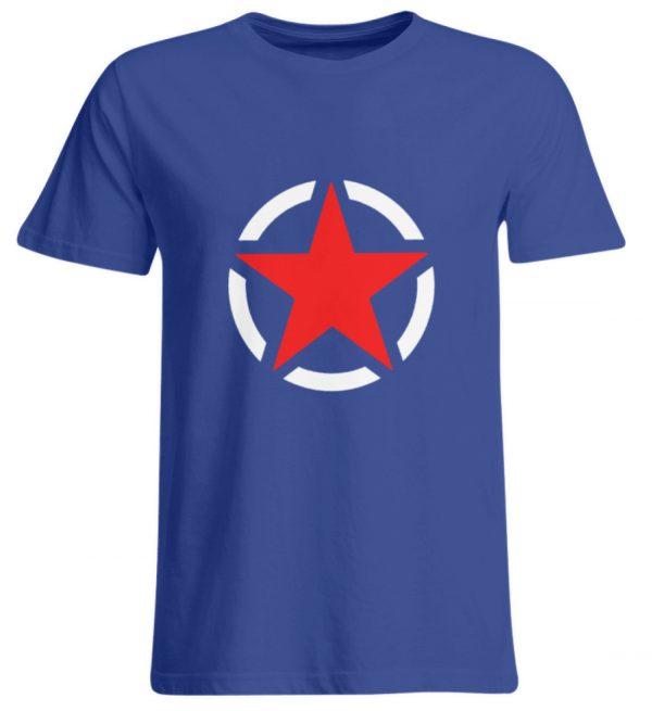 SpreeRocker Red + White Star - Übergrößenshirt-668